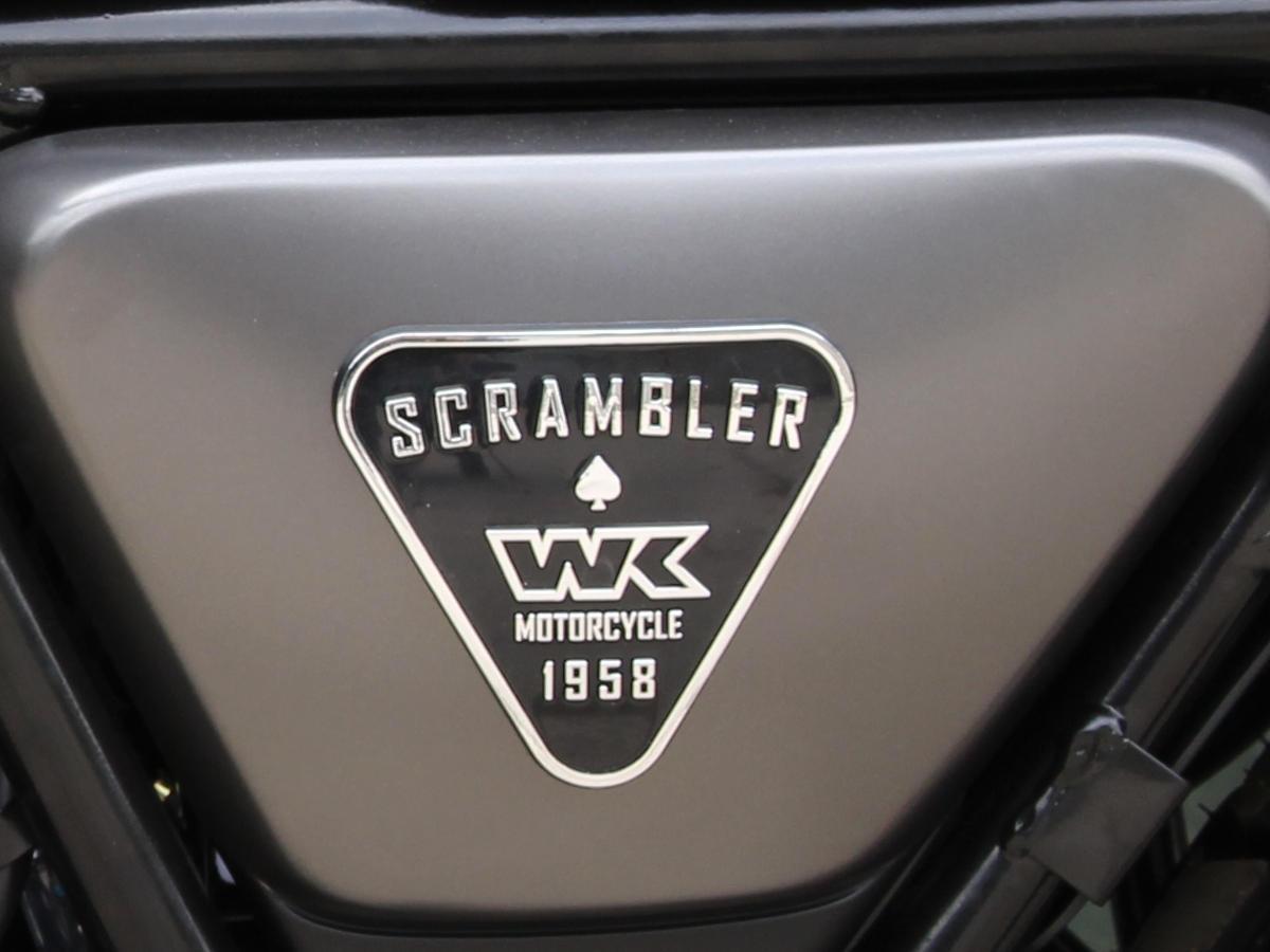 scrambler 125 grey