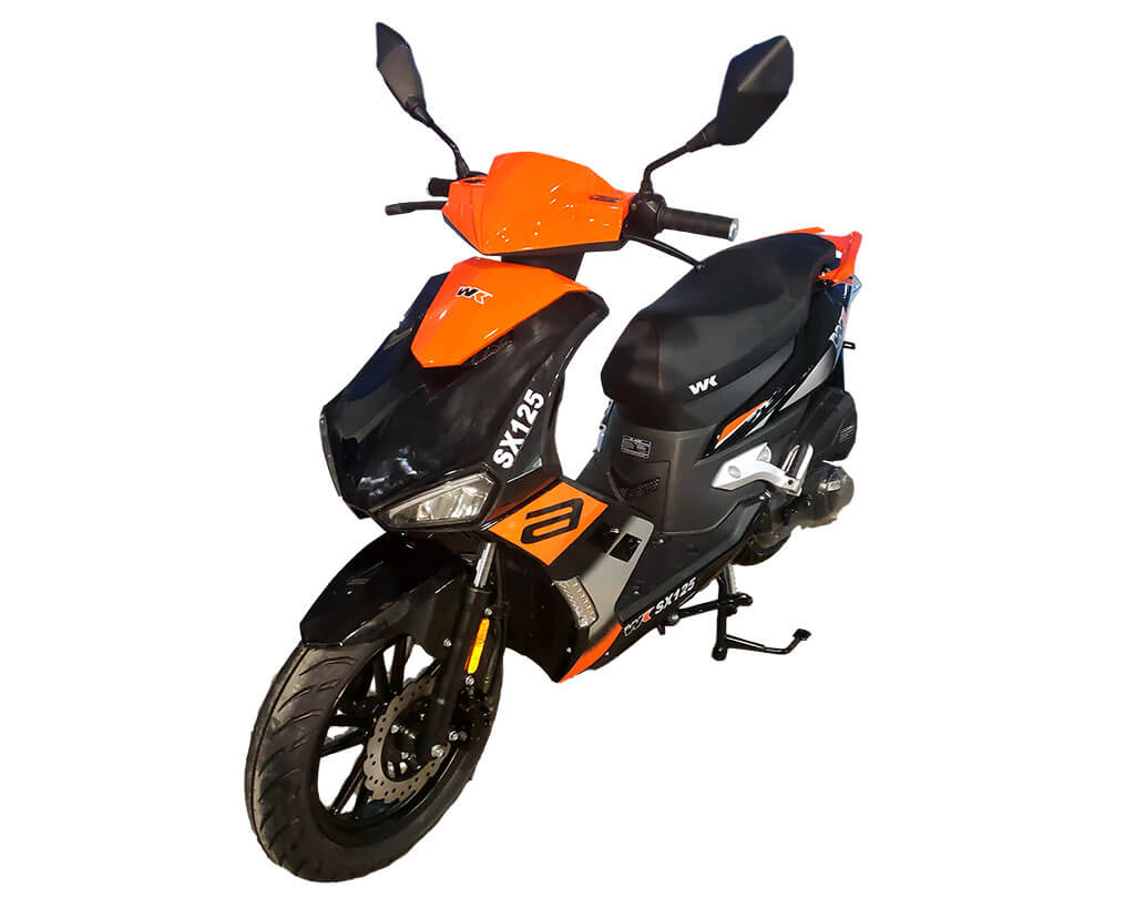 WK SX 125 Black/Orange