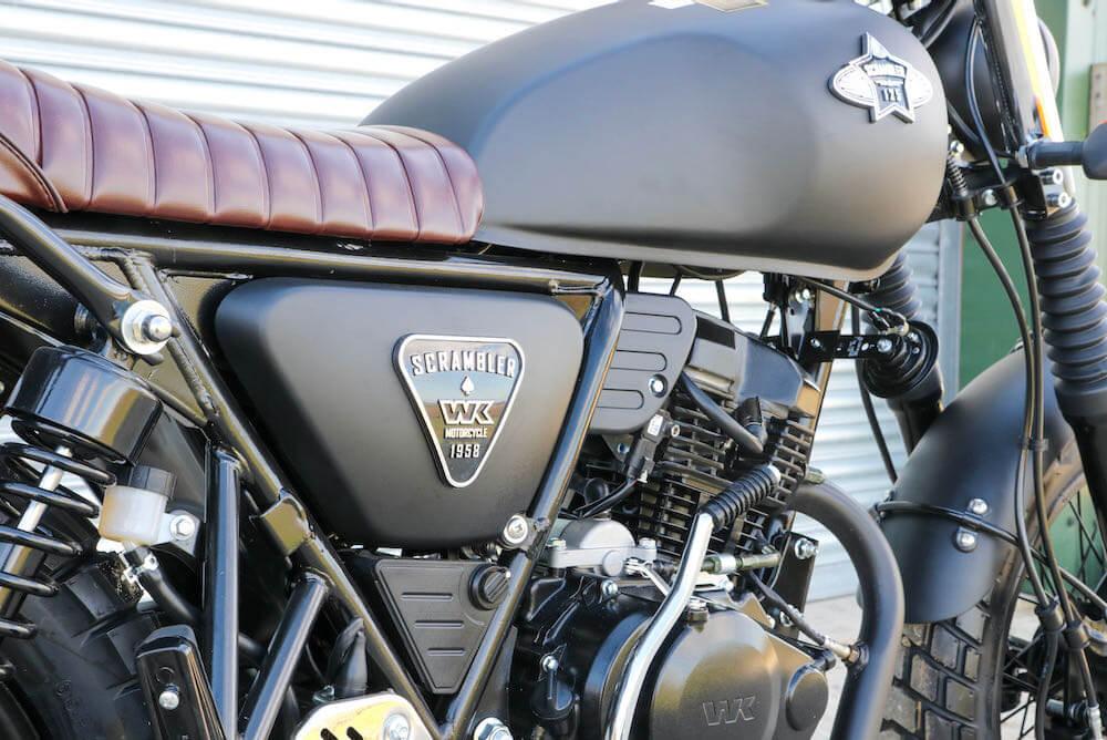 scrambler 125 engine
